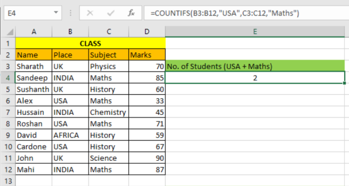 Excel COUNTIFS Function 1.PNG