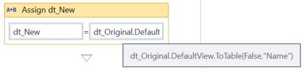 UiPath Datatable with Specific Columns 3