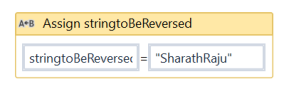 UiPath Reverse a string 1.PNG