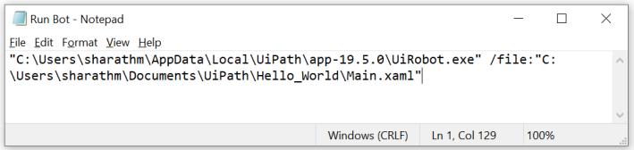 UiPath Run a process using .bat file 2.PNG