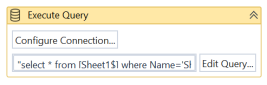 UiPath Excel as Database 4