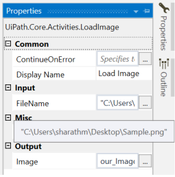 uiPath Extract Text from Image using OCR 2