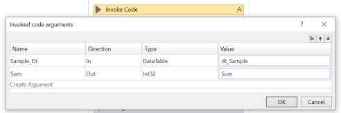 UiPath Invoke Code Activity Example 3.PNG