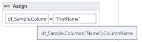 UiPath Rename DataTable Column Name 3