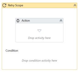 UiPath Retry Scope Activity Example 1