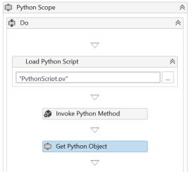 UiPath Execute Python Script 7